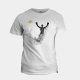 AK Champ Design Men's White T-Shirt