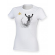 AK Champ Design Women's White T-Shirt