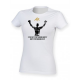 AK Can't Stop Design Women's White T-Shirt