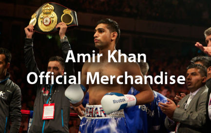 Amir Khan Official Merchandise