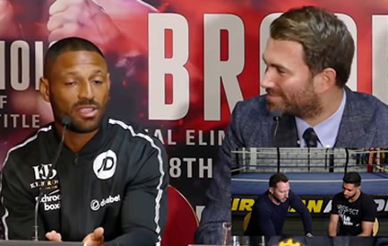 Brook and Hearn Call Khan Out