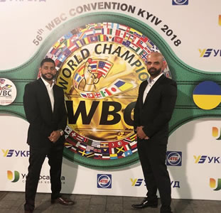 Amir Khan @wbcboxing